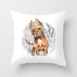 Bunny Ears 4 Throw Pillow