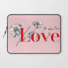 Love Qoutes Laptop Sleeve
