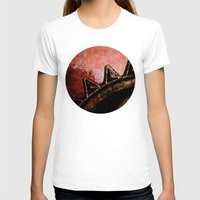 industrial T-shirts featuring Industrial Sunset by Bella Blue Photography