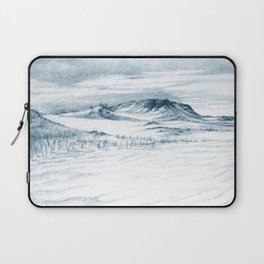 Beach Sand Dunes Drawing Laptop Sleeve