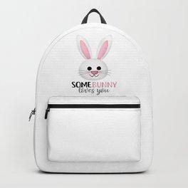 SomeBunny Loves You Backpack