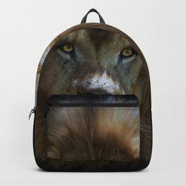 Portrait of a Lion Backpack