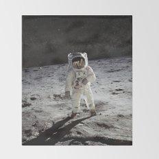 Astronaut Throw Blanket