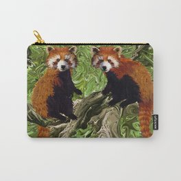 Frolicking Red Pandas Carry-All Pouch