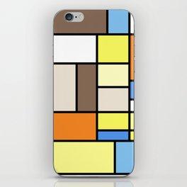 The Colors of / Mondrian Series - To toro - Miyazaki iPhone Skin