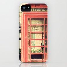 London calling ... Slim Case iPhone (5, 5s)