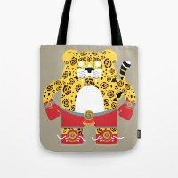 jaguar Tote Bags featuring Jaguar by EinarOux