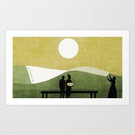 """""""Baku"""" illustration Toni Demuro Art Print"""