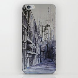 Invisible city iPhone Skin