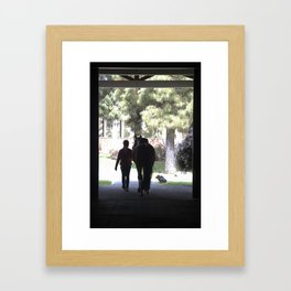 A day in the life Framed Art Print