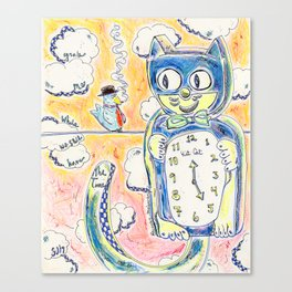 Grab Me While We Still Have The Time Canvas Print