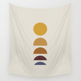 Minimal Sunrise / Sunset Wall Tapestry