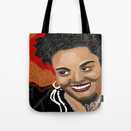 "Golden ""Jill Scott"" Tote Bag"