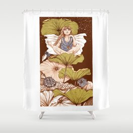 Exoteric fairy Shower Curtain