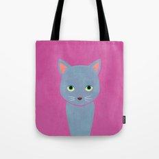 cat -Alice Tote Bag