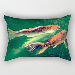 Fairy Koi Rectangular Pillow
