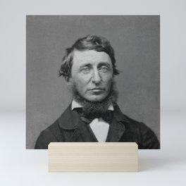 Benjamin Maxham - portrait of Henry David Thoreau Mini Art Print
