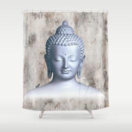 Μy inner Buddha Shower Curtain