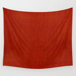 Red Watercolor Square Wall Tapestry