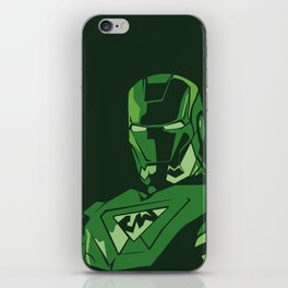 saudi iron man iPhone Skin