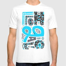 Illogical Mens Fitted Tee MEDIUM White