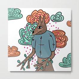 Tree animal Metal Print