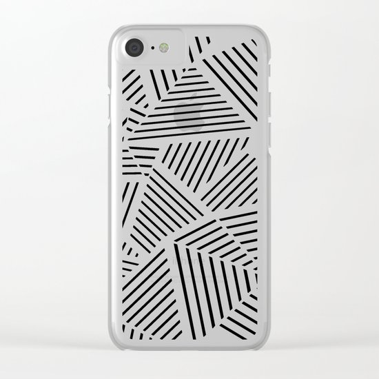 Ab Linear Zoom W Clear iPhone Case