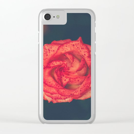 Treasure of Nature IV Clear iPhone Case