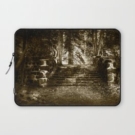 Ruin, Very Old Steps in Forest Laptop Sleeve