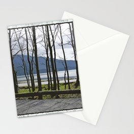 CRESCENT BEACH ON ORCAS ISLAND Stationery Cards