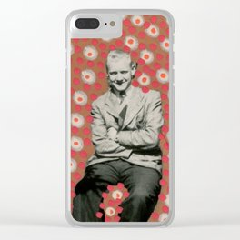 The Eyes Behind You Clear iPhone Case