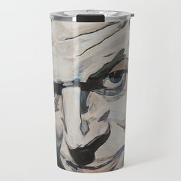 Might As Well Face It - Robert Palmer Portrait Travel Mug