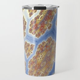 Fractal Lava Flows Travel Mug