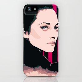 Marion Cotillard iPhone Case