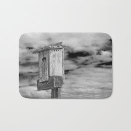 Of Birds and Houses Bath Mat