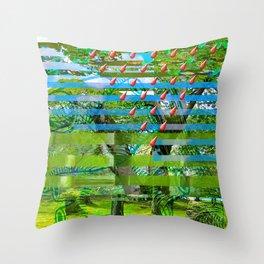 Landscape of My Heart (segment 2) Throw Pillow