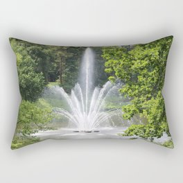 Amazing Fountain Rectangular Pillow