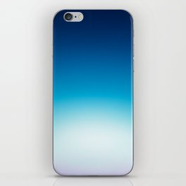 Ombre Blue iPhone Skin