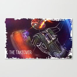 The Takeover Canvas Print