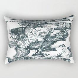 glitch1 Rectangular Pillow