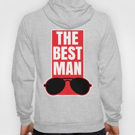 Best Man Cool Wedding Party Groom Gift Hoody