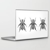 beetle Laptop & iPad Skins featuring Beetle by Rhiannon Foster