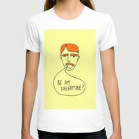 70s T-shirts featuring 70s Valentine by MergersMergers