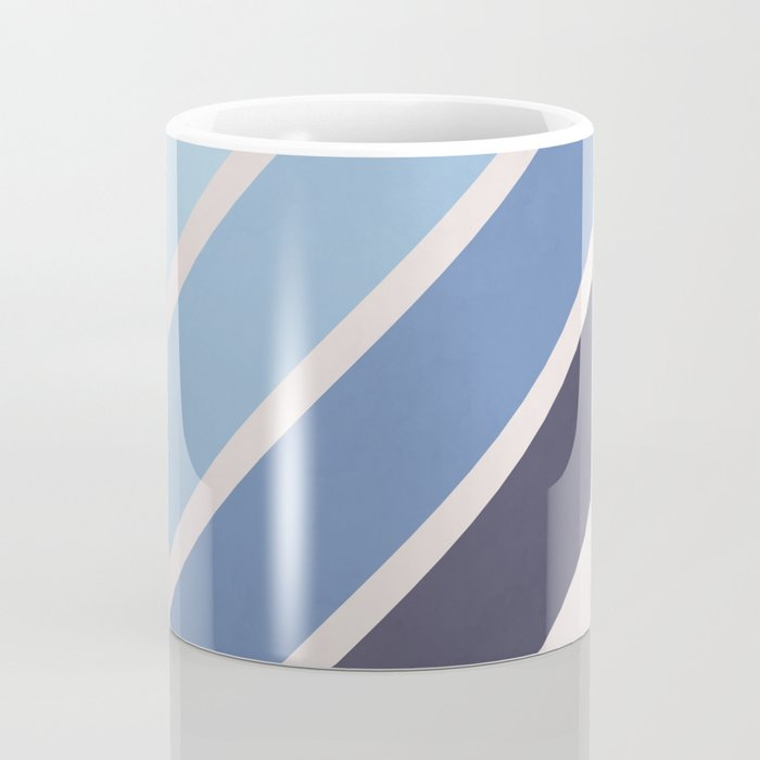 Blue Color Drift Coffee Mug