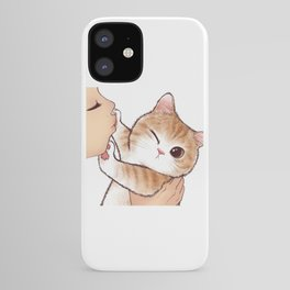 want to kiss iPhone Case