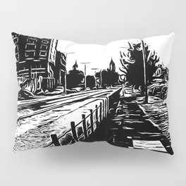 Street in portugal Pillow Sham