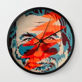 Jerry - Steal His Face Wall Clock
