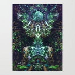 Pareidolia - Fractal Manipulation Poster
