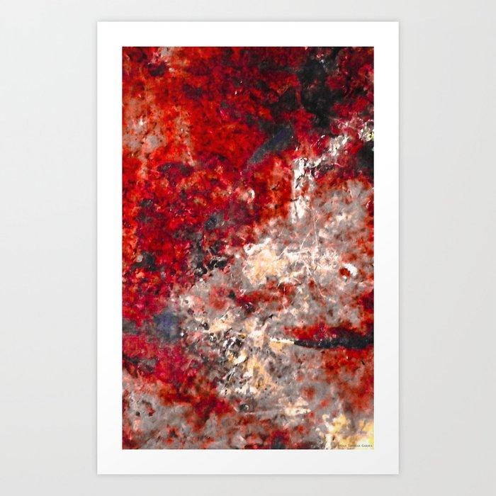 """White Fire"" Art Print"