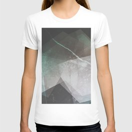 Marble Teal Layers T-shirt
